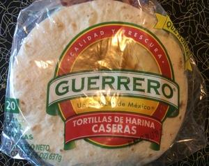 Tortillas-Guerrero Flour